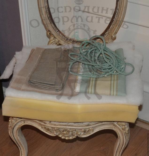 Как обтянуть стул в домашних условиях. Мастер-класс 2