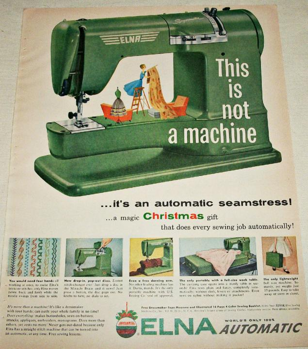 Новогодняя реклама Vintage/1951 -1956 включительно, фото № 40