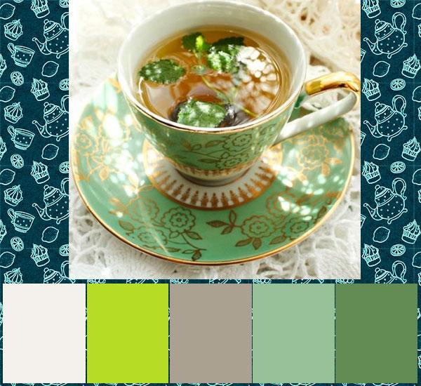 цвет чая