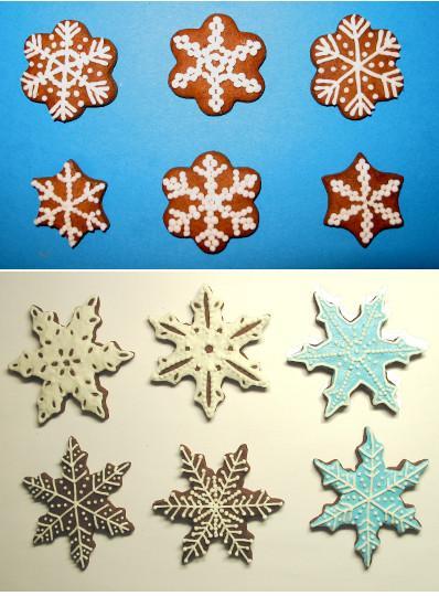 Как сделать снежинку из солёного теста