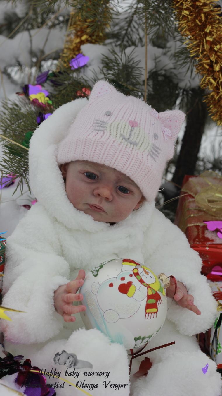 кукла как младенец