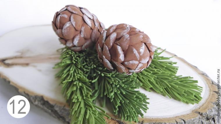 Новогодние поделки из фоамирана своими руками
