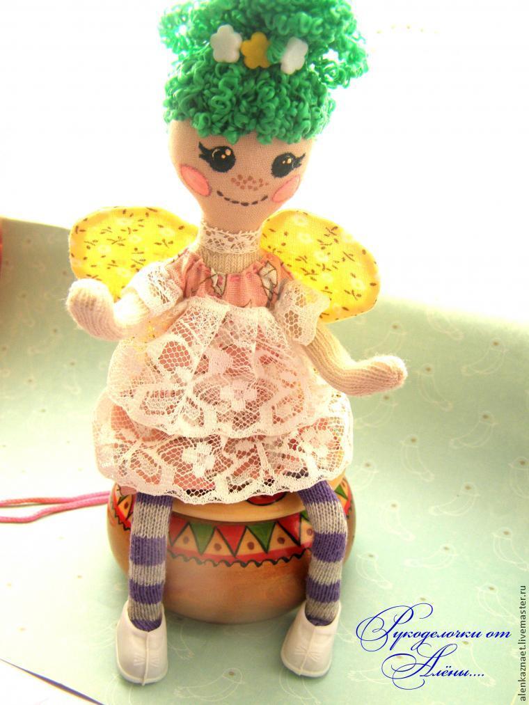 Мастерим куклу-подвеску «Бабочка» по мотивам Лалалупси, фото № 33