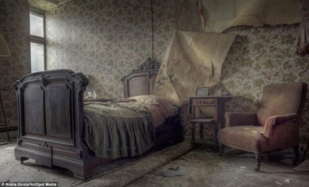 Заброшенная роскошь в бельгийском особняке, фото № 7