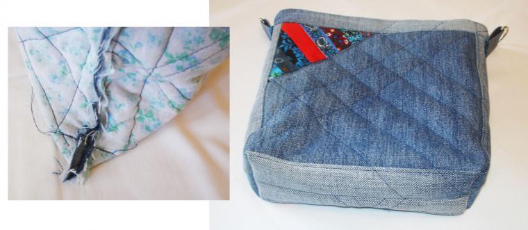 da8394e23ffb Шьем сумку «Остатки сладки» из лоскутков и старых джинсов – мастер-класс  для начинающих и профессионалов