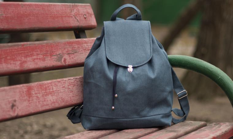 рюкзак, стильный рюкзак, текстильный рюкзак