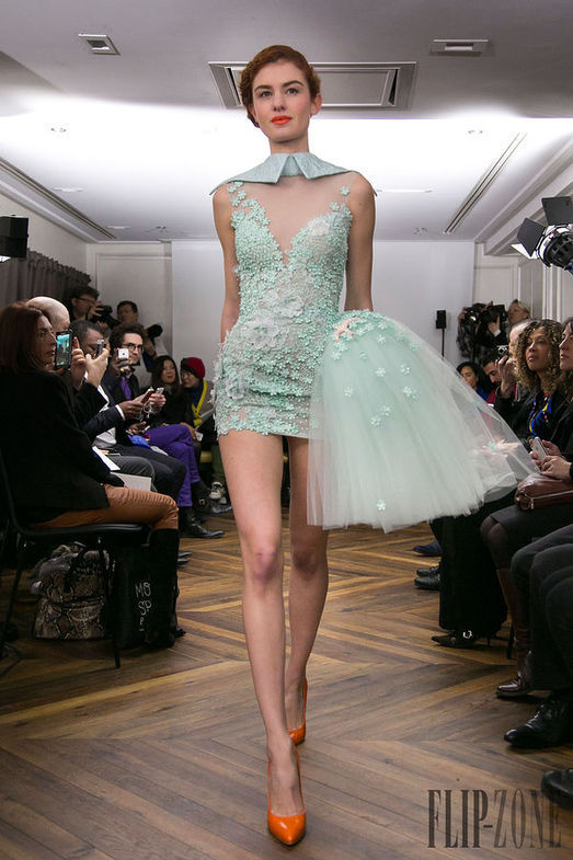 Tony Yaacoub Haute Couture весна-лето 2014, фото № 3