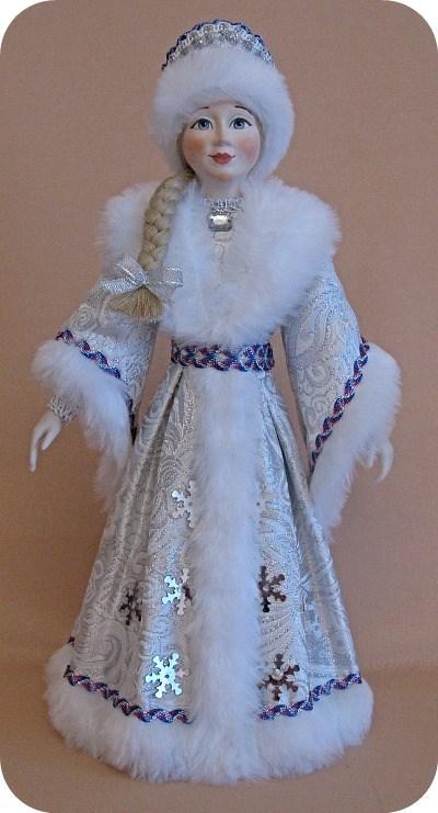 дед мороз, кукла ручной работы, новый год 2014, кукла