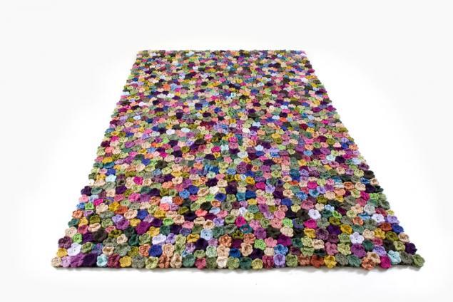 подушка, цветы, крючок