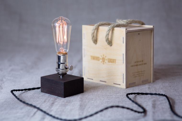 Светильник эдисона своими руками 98