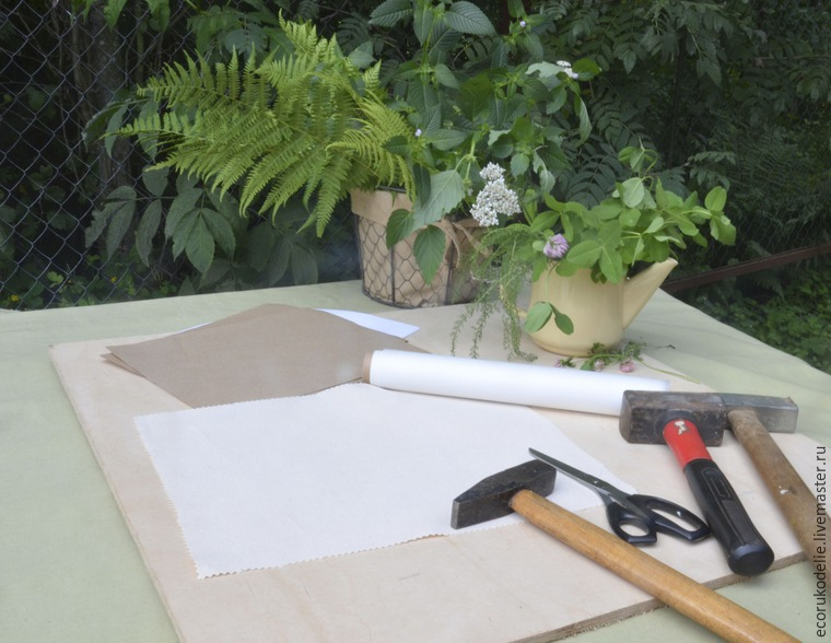 How to Make Plant Prints on Fabric, фото № 1