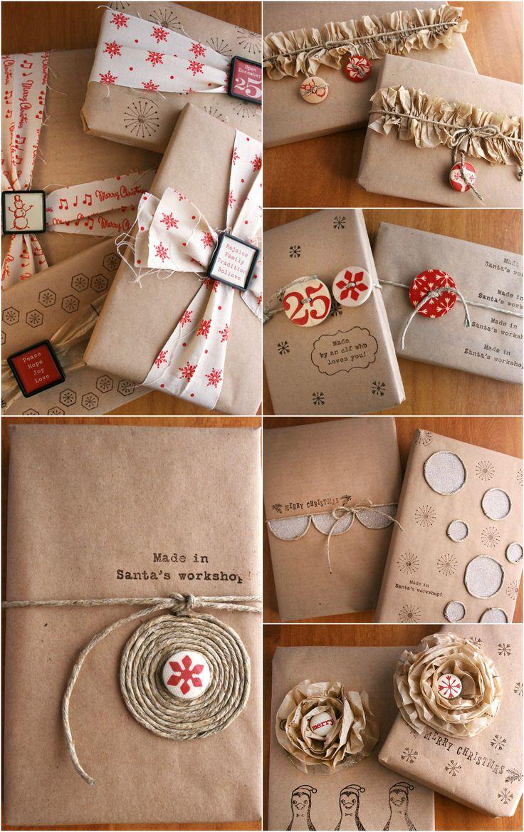 Новогодние украшения из упаковочной бумаги своими руками