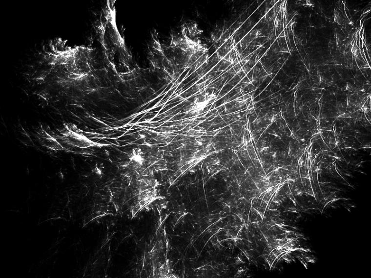 Фракталы и спирографические волны в Фотошоп