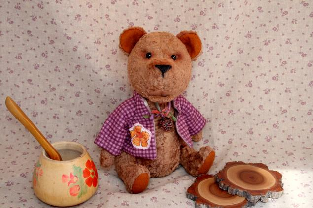 аукцион сегодня, тортюр, винтажный мишка, коллекционный мишка, винтажный плюш, мишка ручной работы, аукцион на игрушку, мишка из плюша, коллекционная игрушка, вишневый мир