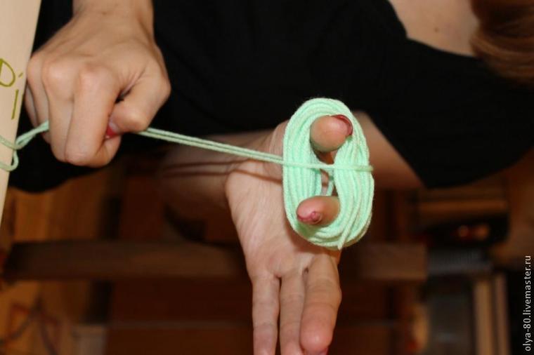 Процесс создания веселого коврика, фото № 5