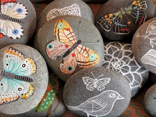 Роспись камней в стиле гиперреализма - Ярмарка Мастеров - ручная работа, handmade