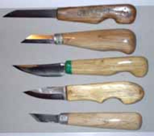 Классификация инструментов для резьбы Резьба по дереву, кости и камню
