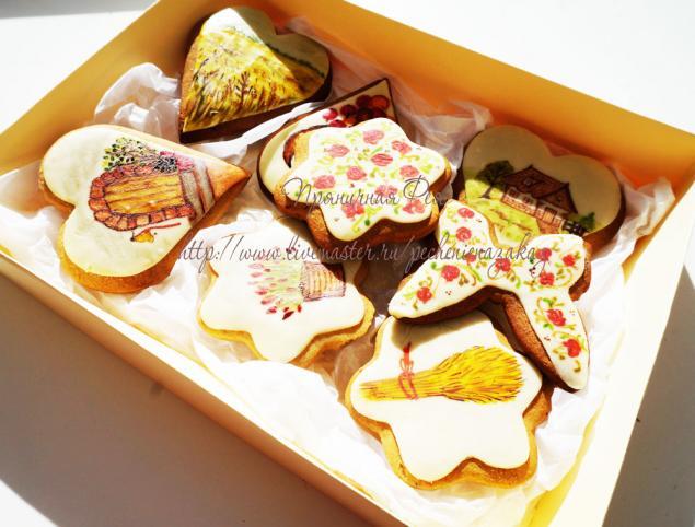 Печенье в коробках на подарок 194