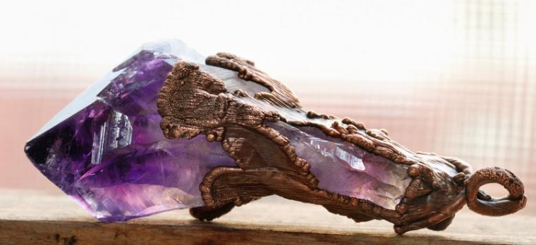 оправа камней, медь