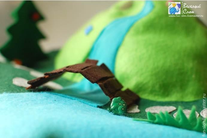 Шьем яркий и реалистичный игровой коврик из фетра, фото № 45
