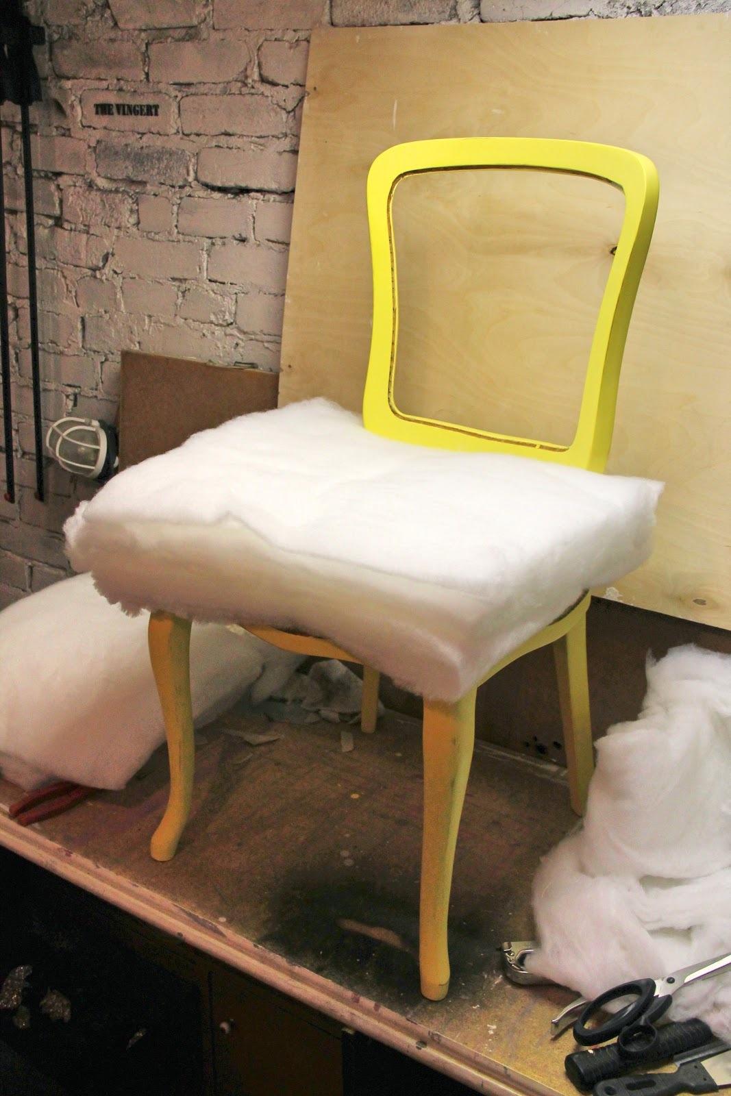 Как сделать из стула кресло Дача своими руками 35