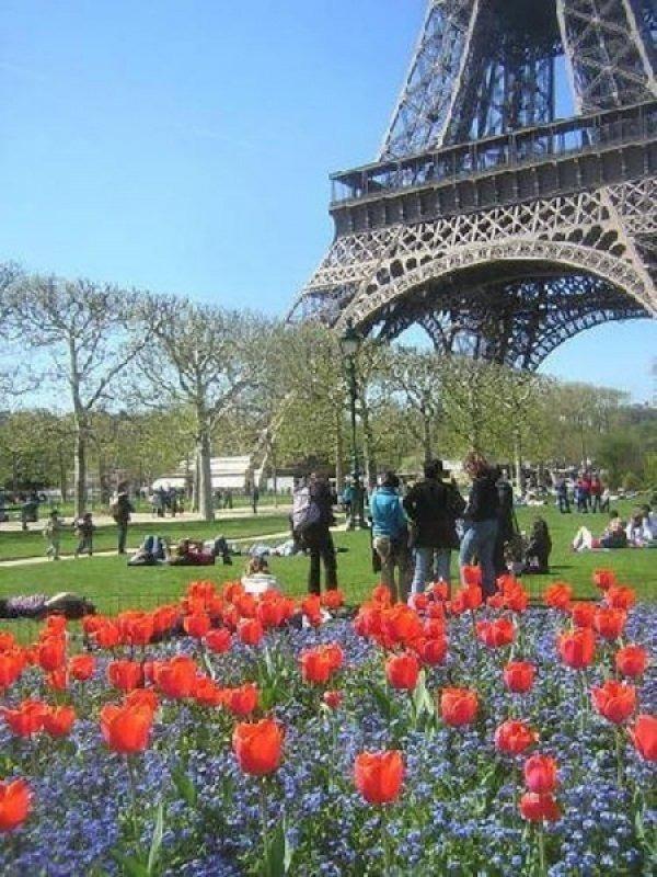 Весенний Париж, дыхание теплого ветра, фото № 27