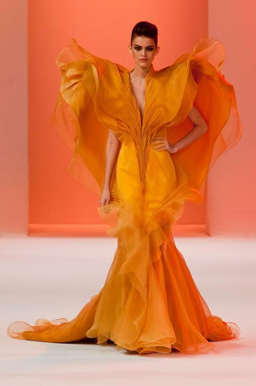 Stephane Rolland Haute Couture весна-лето 2014, фото № 33