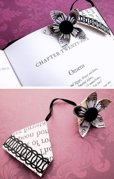 Как сделать закладки для книги своими руками из картона
