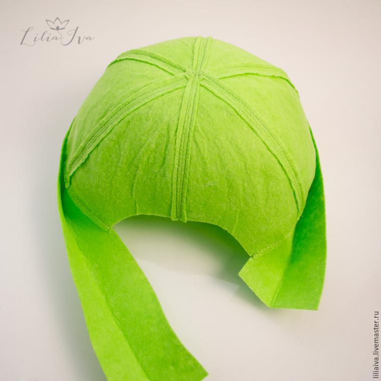 Шьем шапочку-капусту для детского капустника, фото № 6