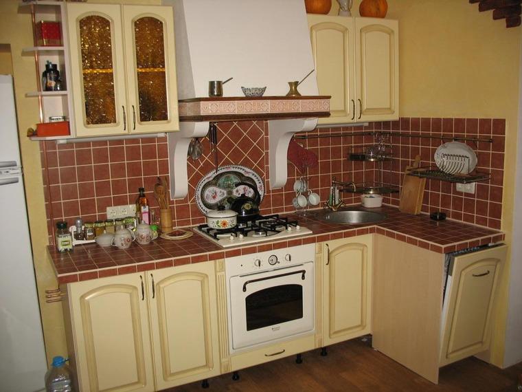 Оформление маленькой кухни своими руками