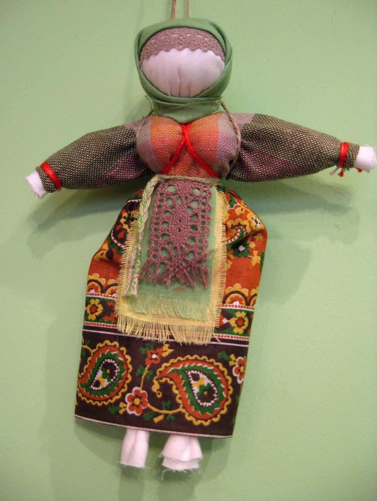 кукла своими руками, традиционная кукла, кукла-мотанка
