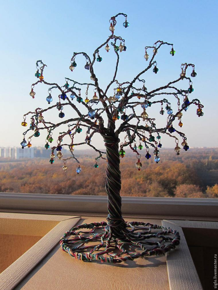 Красивые деревья своими руками фото 69