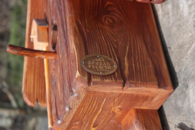 артель русичи, декор для сада, для сада, из дерева, мебель для дачи, скидка