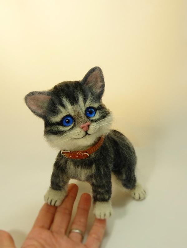 мартовский котенок