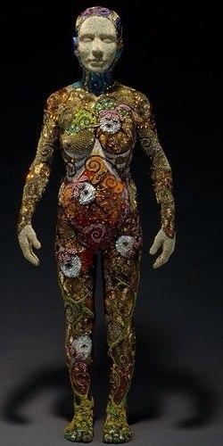 бисерные скульптуры
