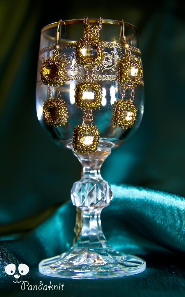 распродажа, комплект украшений, бижутерия, коричневый, подвеска, ожерелье