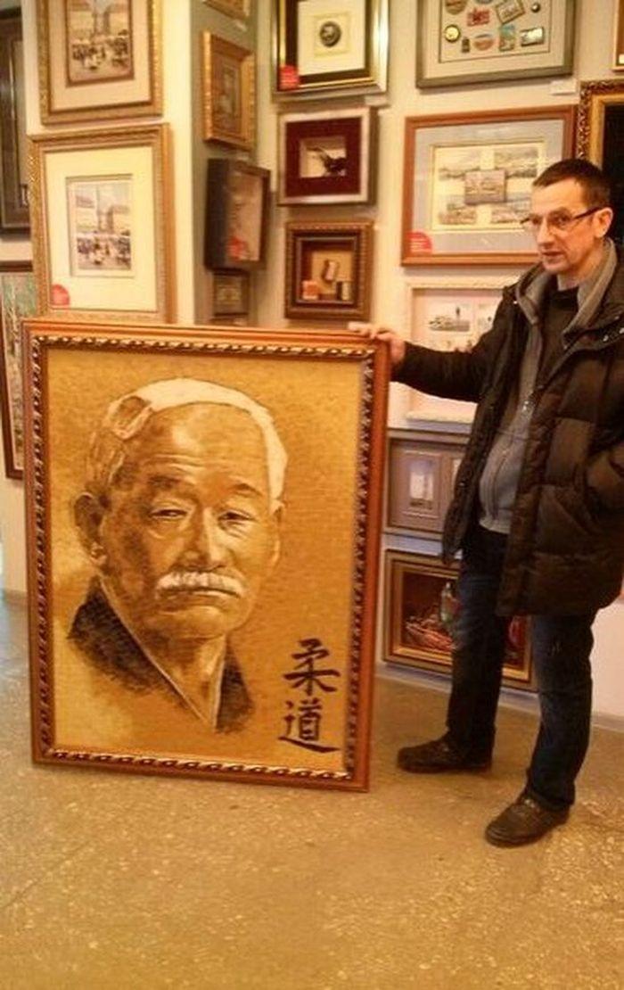 портрет, дзигоро кано, judo, дизайн, челябинск