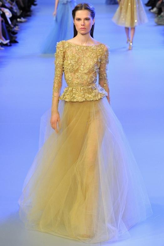 Elie Saab Haute Couture Весна-Лето 2014, фото № 27