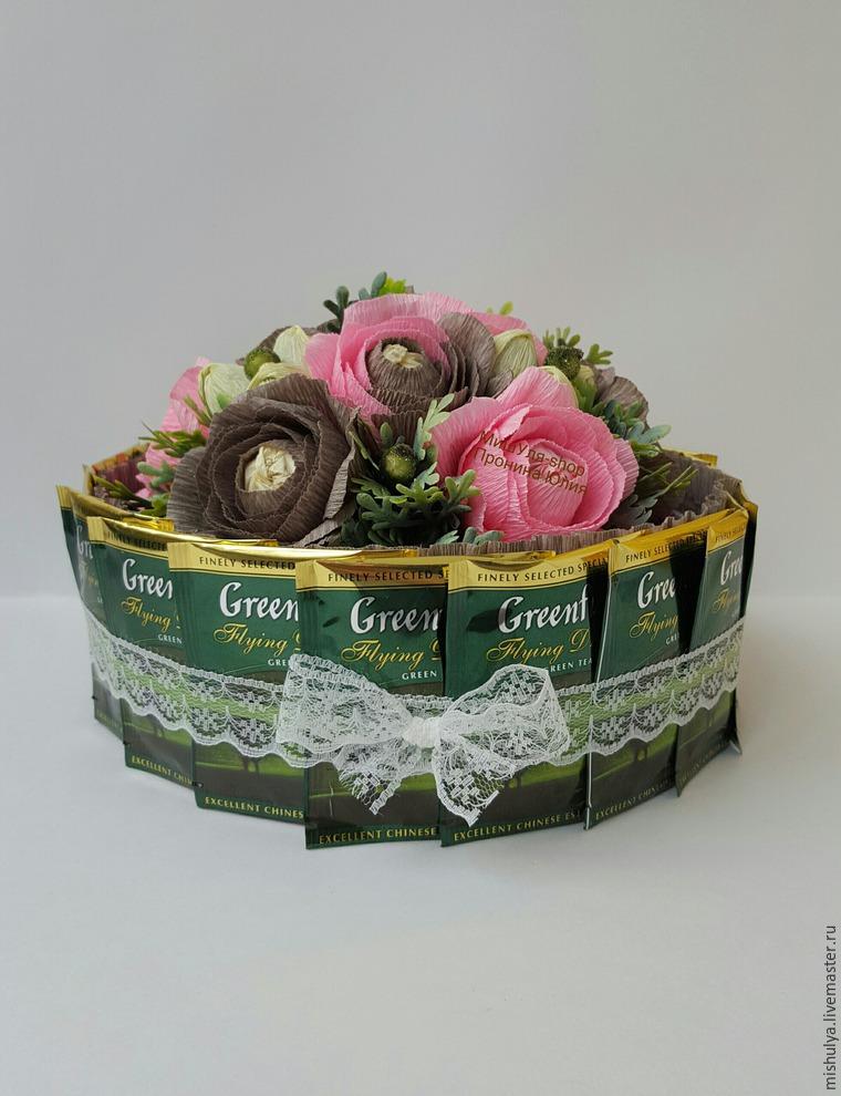 конфетный букет
