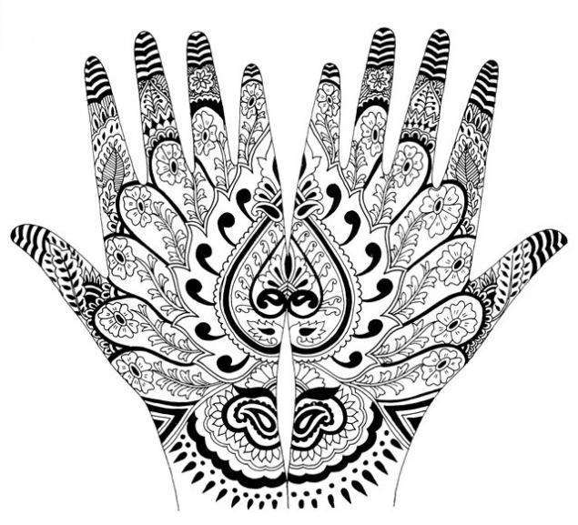 Менди. Традиционные рисунки хной, фото № 15