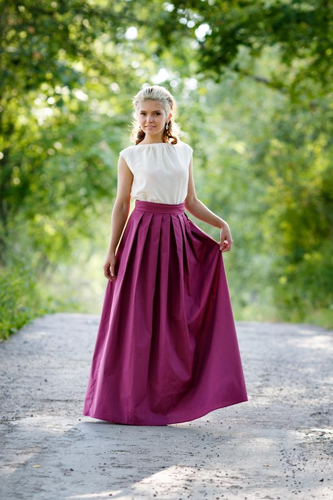 длинные юбки, lusen