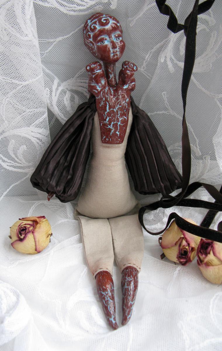 кукла шокола
