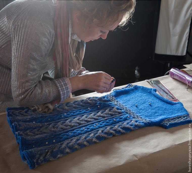 Декор платья