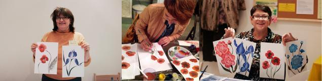 мастер-классы в москве, рисование цветов