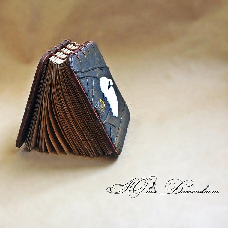 деревянный блокнот, стильный блокнот