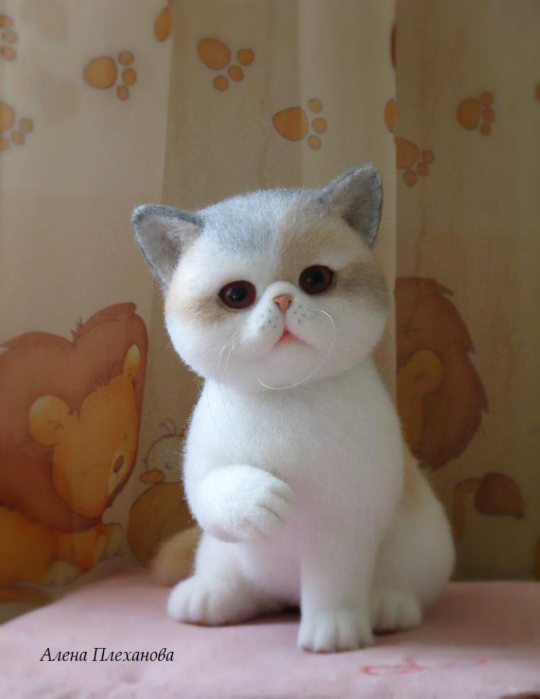 скоро, анонс, скоро в продаже, котенок из шерсти, кошечка