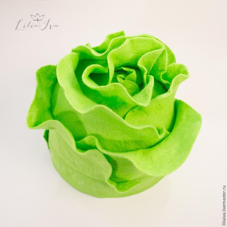Шьем шапочку-капусту для детского капустника, фото № 17