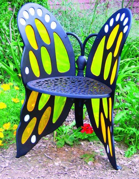 Бабочки как элемент дизайна интерьера, фото № 17