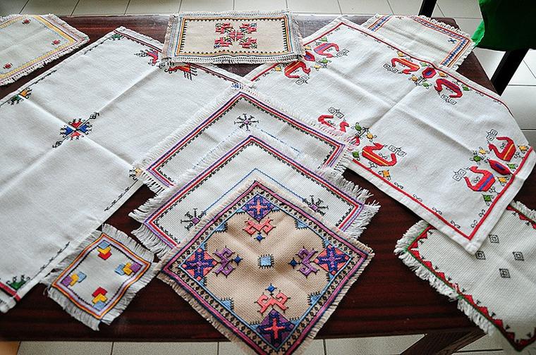 Чувашская вышивка символы
