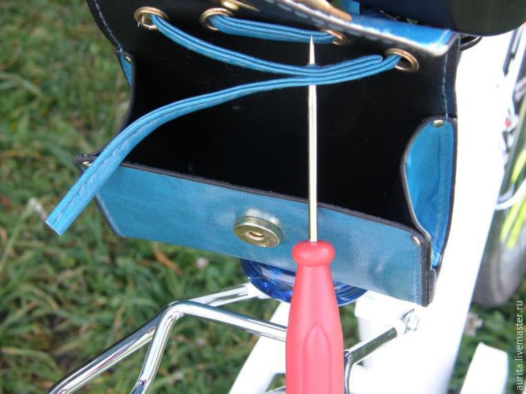 Бардачок для велосипеда своими руками 3